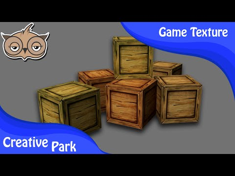 Game Texturing - How to Create a Wood Texture in Photoshop Part 01