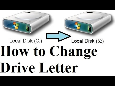 How to Change Windows Drive Letter | C: , D: | Using CMD | Windows Hacks | By SVS Tutorial
