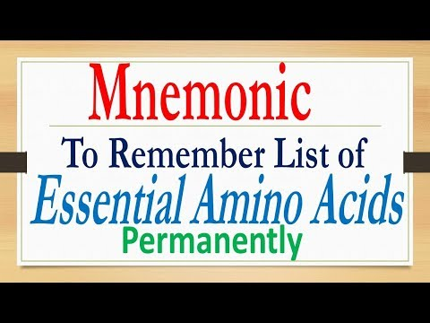 Mnemonic to Remember | ESSENTIAL AMINO ACIDS