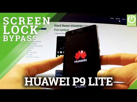 How to Hard Reset HUAWEI L21 P9 Lite - Remove Screen Lock