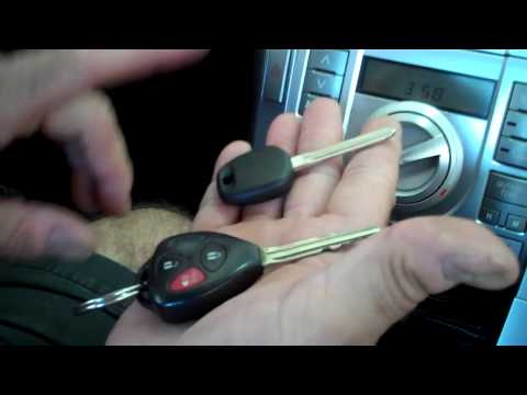 How to Program Key for Scion and Toyota