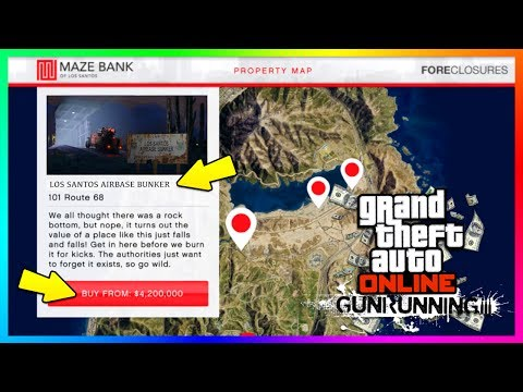GTA ONLINE GUNRUNNING DLC - HOW TO MAKE THE MOST MONEY TO BUY ALL NEW BUNKERS, VEHICLES & MORE!!