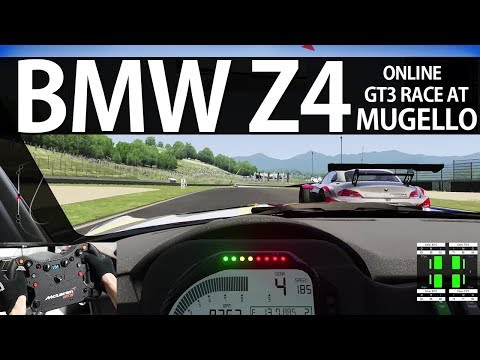 BMW Z4 GT3 ONLINE AT MUGELLO   ASSETTO CORSA