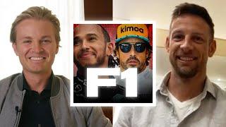 Hamilton vs Alonso – Who's Faster? Talking F1 with Jenson Button!   Nico Rosberg   Podcast #20