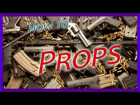 How To Make Cheap Props | Action Tutorials