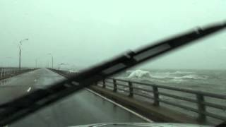 Hurricane Sandy Generates Enormous Waves in the Chesapeake Bay