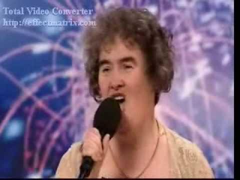 Susan Boyle Cry Me A River + Britain has Talent