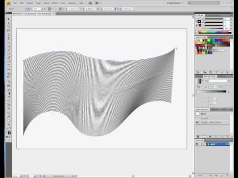 illustrator CS4 ''Line Art'' tutorial