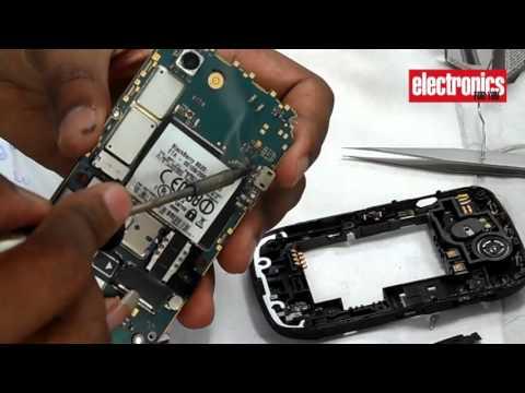 BlackBerry Charging port repair and teardown | DIY (Hindi)