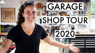 Shop Tour 2020 - What I like and DON'T like about my space