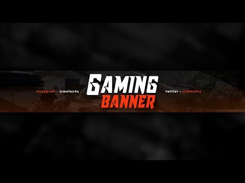 How To Make Cool Gaming Banner On Android (Ps Touch)