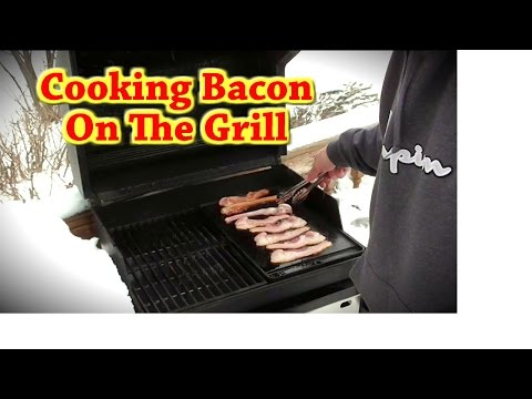 Cooking Bacon on the Grill- Weber Griddle Accessory