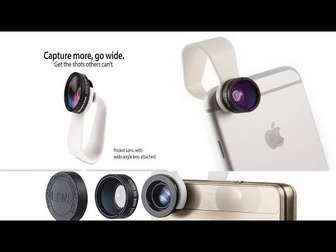 Cell Phone Camera Lens 2-in-1 by Pocket Lens  under 15$