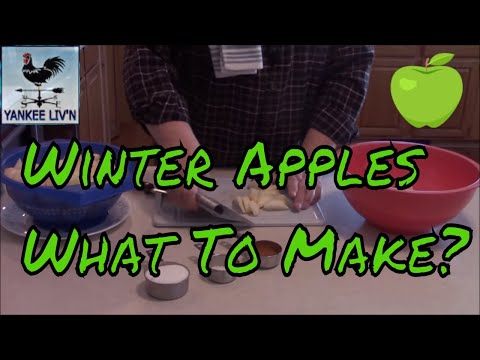 Winter Apples, What To Make?