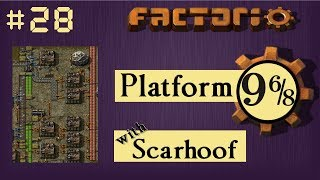 Factorio Multiplayer: Platform 9 6/8 EP 28 - Solid Fuel! | Train & Belt World, Gameplay, Lets Play