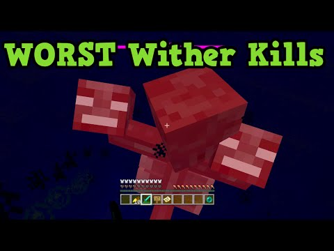 Minecraft Top 5 WORST Places To Kill The Wither