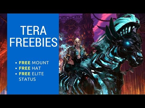 Tera Freebies for PS4 Plus (FREE Mount, FREE Elite Status and a FREE Hat)