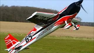 Maiden flight rc extra 330sc 73