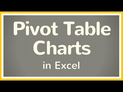 How to Make a Pivot Table Chart in Excel - Tutorial