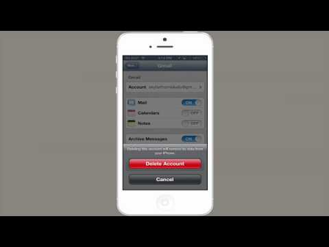 How to Sign Out of Mailboxes on an iPhone : Tech Yeah!