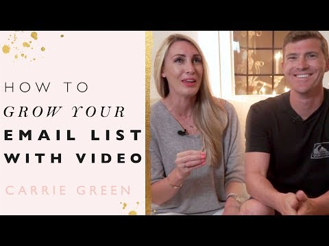 Grow our Email List With Video and YouTube - The PERFECT Call-To-Action Formula