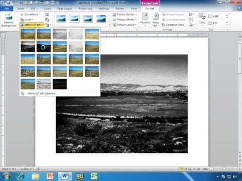 Word Image Tools: Add Artistic Effects, and Remove Background