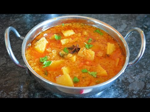 Potato/Aloo Kurma-Side dish for Roti/Biryani