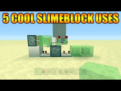 ★Minecraft Xbox 360 + PS3 Title Update 31 - 5 Cool Things To Do With Slimeblocks Redstone Creations★