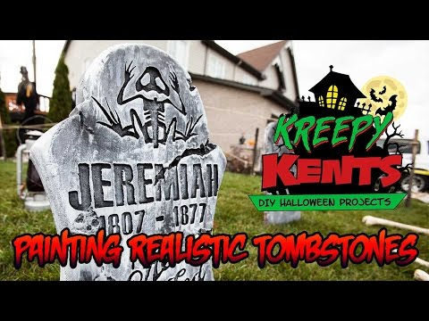 How to Make Your Own Tombstones (Part 3 of 3)