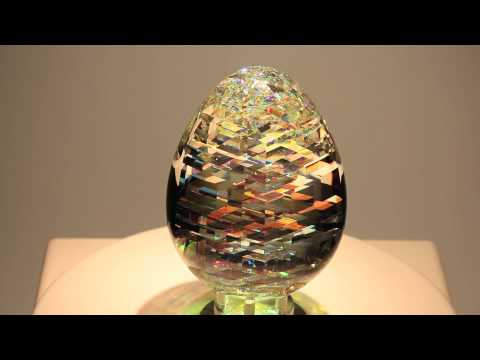 ViviOvo D'Oro- Glass Sculpture by Jack Storms