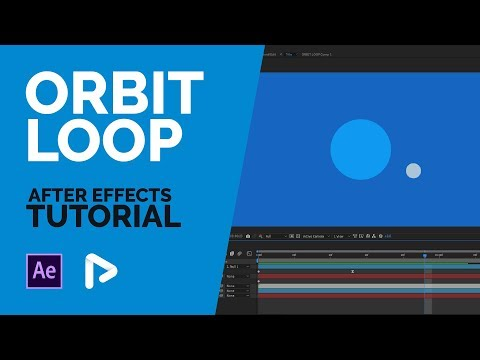 After Effects Tutorial: Orbit Loop