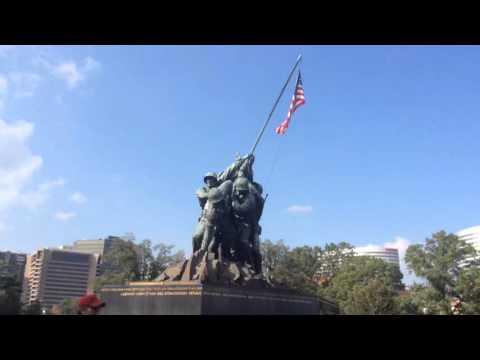 Tour Guide Takes - Quickie - Iwo Jima/Marine Corps War Memorial