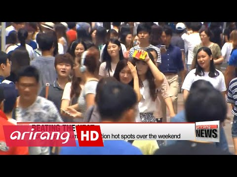 EARLY EDITION 18:00 Koreans hit the water, more heat warnings issued