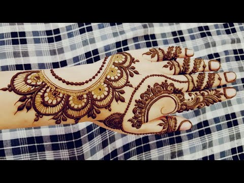 Ramazan Special Mehndi Design 2 2018 Heena Vahid Bjxbq Videostube