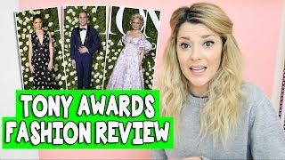tony awards fashion review grace helbig