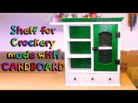 LOOK AT WHAT YOU CAN DO WITH CARDBOARD -  AWESOME FURNITURE HOMEMADE FOR KITCHEN