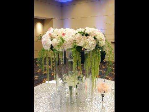 How to Wedding Centerpiece | Table Centerpiece | Large Floral Arrangement