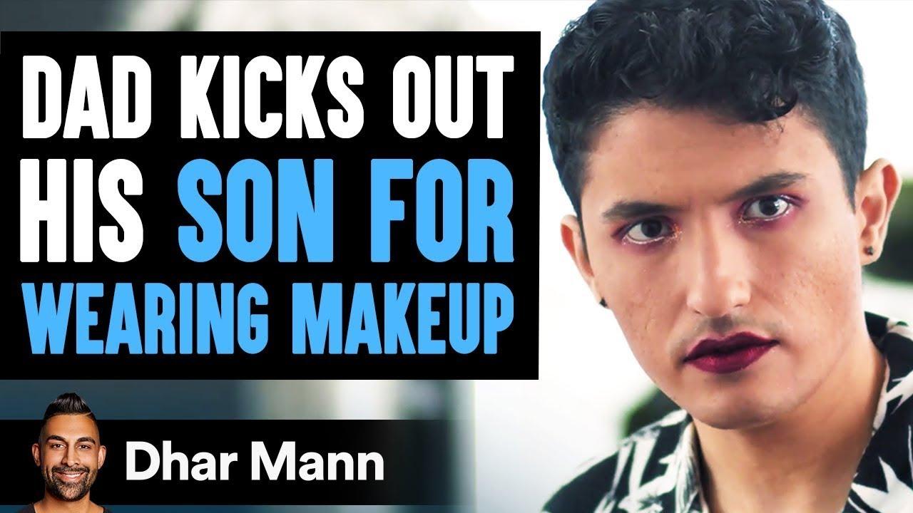 Dad Kicks Out Son For Using LiveGlam Makeup, INSTANTLY REGRETS IT! | Dhar Mann