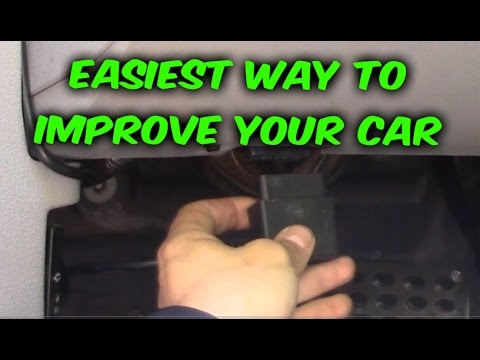 Easy way how to Gain HP or Save Gas MPG Fuel economy, Diablo car tuner review