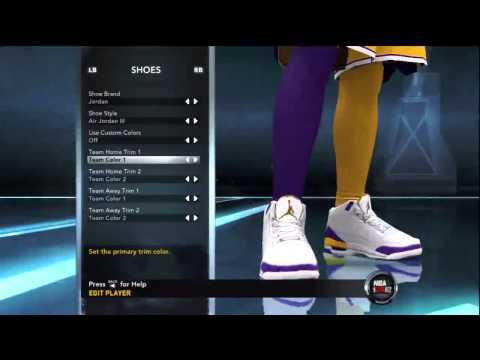 NBA 2K12 Air Jordan Retro 3