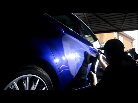 Level of Paint Correction from a Single Stage Machine Polish
