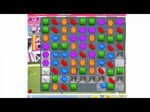 How to play Candy Crush Saga Level 235 - 3 stars - No booster