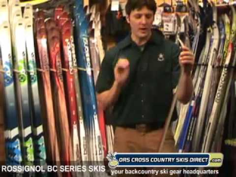 Rossignol Skis - BC65, BC70, BC90 Review Video by ORS Cross Country Skis Direct