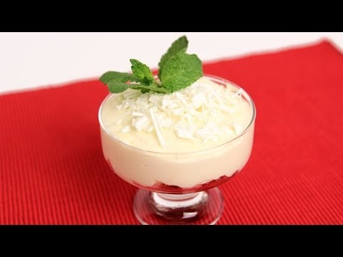White Chocolate Mousse Recipe - Laura Vitale - Laura in the Kitchen Episode 720