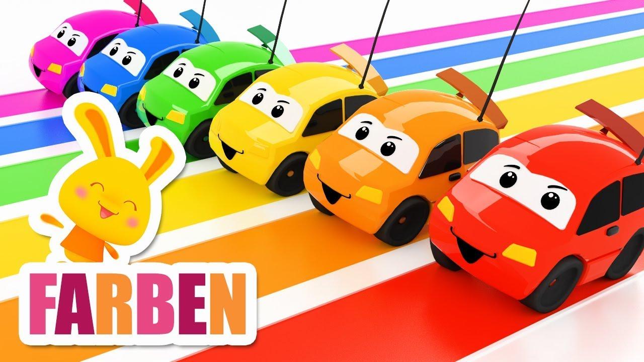 FARBEN - Farben lernen auf deutsch - Deutsch lernen - Titounis