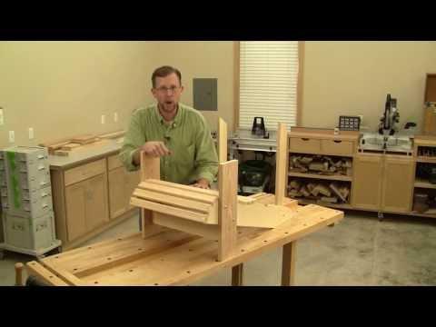 Building an Adirondack Chair Part 2