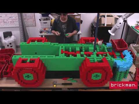 LEGO® DUPLO brick Train Timelapse