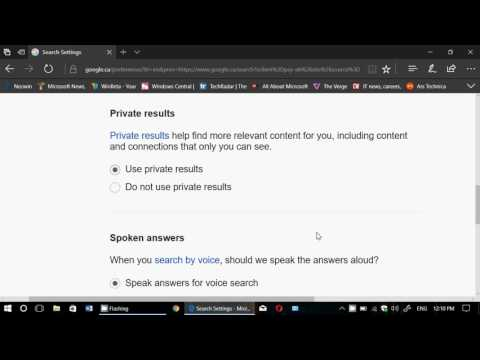 Tips and tricks How to change Settings in Google search