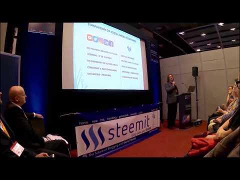 London Investors show promo uk steemit presentation