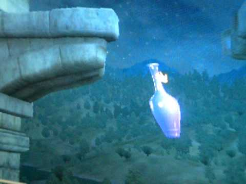 oblivion glitch the flying potion FOR REAL!!